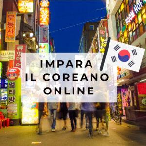 Corso coreano online